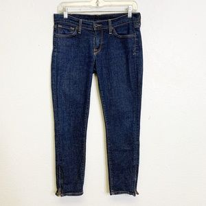 Lucky Brand Ankle Zipper Jeans
